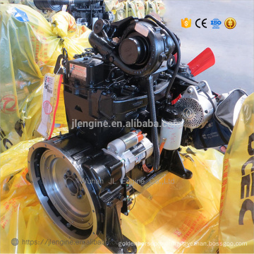 4BT3.9L 80HP complete diesel engine assembly 4BTA3.9-C80