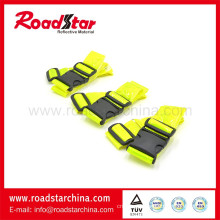 Fluorescent Yellow Hi-Vis Reflective Sam Browne for Cycling