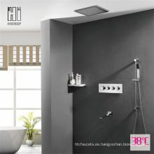 Grifo termostático de ducha HIDEEP de tres funciones