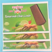 Großhandel PANTONE Farbdruck abnehmbare Lebensmittel-Label-Aufkleber mit Laminierung