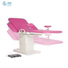 Elektrische Gynäkologie-Untersuchungs-funktionierender Geburts- tisch