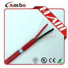75 degree new pvc jacket 1000ft Red FPL FPLR solid/stranded fire alarm cable