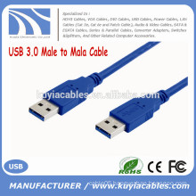 Factory Sell Super Speed blue USB 3.0 cable male to male 0.35M 0.5M 1M 1.5M 2M