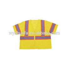 Manufactory produc USA Market ANSI 2010 Standard reflective vest with pocket