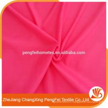 Tissu en fibre de polyester polyester de conception simple pour canapé