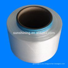 Hilado de filamento de PLA 30D / 36F Hilado de poli fibra de ácido láctico