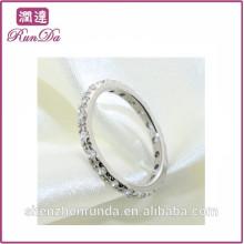 2014 atacado rodada mulheres anéis de diamante
