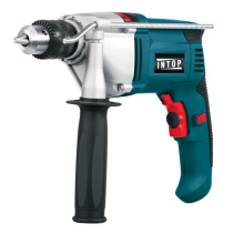 Powertec 650/810/910 / 1050W Perceuse à impact électrique 13mm, outils électriques à la maison,