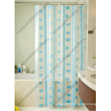 Marine Animal Printed Shower Curtain