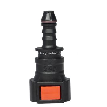 Conector rápido de línea de urea 9.49 (3/8) - ID6 - 0 ° SAE