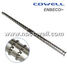 Bimetallic Extrusion Screw Barrel