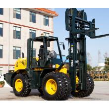 Chariot élévateur tout terrain 4x4 10 tonnes