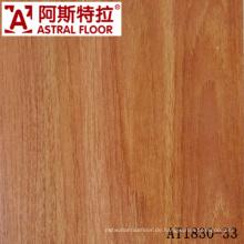 Holzlaminatbodenbelag, wasserdichter Klasse 23, Klasse E1 HDF Laminatfußboden