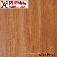 Plancher en stratifié en bois, classe imperméable 23, plancher stratifié de la classe 32 E1 HDF