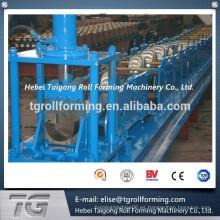 Alta calidad Rollo en frío que forma la máquina para la mitad de canalón de lluvia con sistema de control PLC