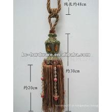 Moda knot cortina tassel
