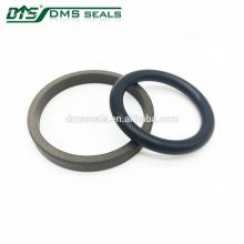 Alta resistencia química bronce PTFE Rod Seal para cilindro hidráulico