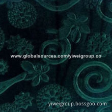 Velvet Fabric, Made of 95% Polyester, 5% Spandex, Multiple Colors Available