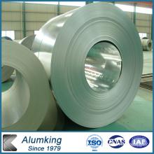 8011 Bobine d'aluminium prépainée avec PE / PVDF pour la construction