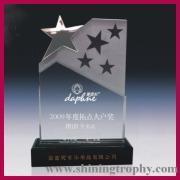 cristal de prêmios e troféus HDSA1020