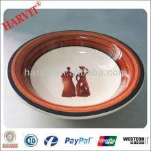 Hand Painting Stoneware Soup Bowl/Soup Bowl Set Chaozhou/Wholesale Porcelain Soup Bowl
