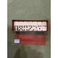 Plastic Box Melamine dominoes