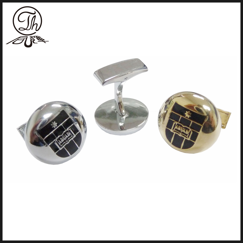 Best Silver flower cufflinks metal sale