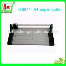 Cortador de papel de guilhotina A4 elegante, aparador de boa qualidade, cartão de identificação
