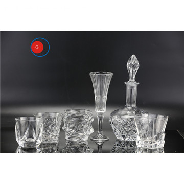 Whisky Tequila Brandy Spirit Liquor Shot Set di bicchieri