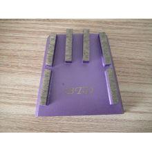 Bloc de cale à liant en métal pour polissage rugueux