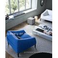 Modern Style Sofa Furniture Living Room Fabric Sofa Set (D-76A & B & C)