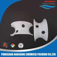 China factory supply PVC, PP, PVDF Plastic Super Intalox Saddles Ring