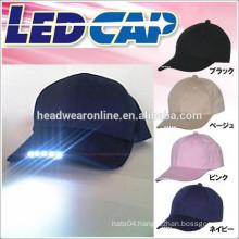 led cap,fiber optic cap,el flashing cap&hat with led