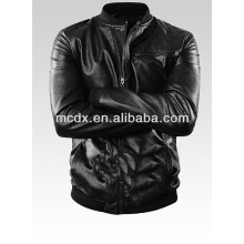 man pu jacket with high quality