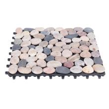 Factory Price DIY Interlocking Natural Stone Tiles Exterior Use