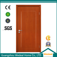 Porte affleurante en bois de panneau simple de chêne pour la porte d'entrée avant