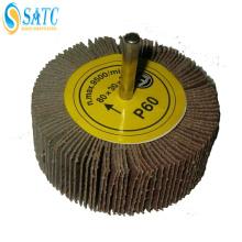 ruedas de aleta de lijado de madera