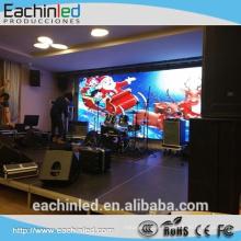 Produção de eventos de palco LED video wall P5.2mm