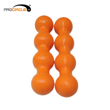 Venta al por mayor Relaxing Muscle Double Silicone Massage Ball