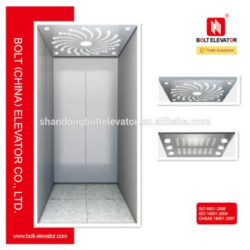 Hairline Stainless Steel Home Ascenseurs et ascenseurs à vendre