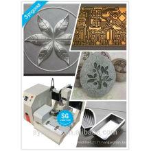 Machine de gravure en métal SG3030 routeur en métal cnc / machine de gravure