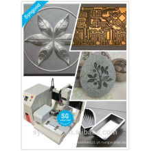 Metal gravura máquina SG4040 mini desktop metal cnc router