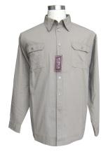 難燃性 100% コットン シャツ