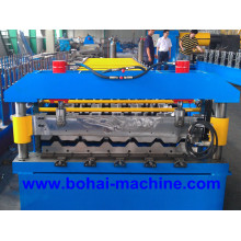 Bobina de folha de aço ondulado de Bohai que dá forma à máquina
