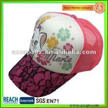 Impresiones florales gorras de camionero de malla Shenzhen ATC-1260