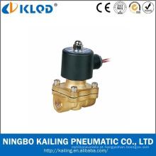 2W160-15 válvula de solenóide de bronze do tamanho de ação direta de 1/2