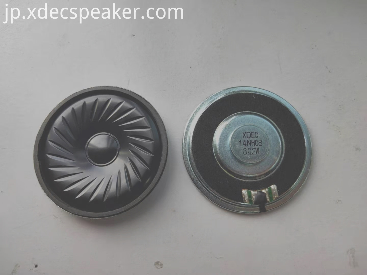 57mm 8ohm 1w neodymium telephone speaker