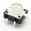 conmutadores de botones táctiles led; mini pulsador ligero llevado; botones finos interruptores
