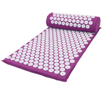 Acupuncture Mat And Pillow Set Relieve Stress Back Body Pain Acupressure Mat