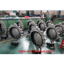 CF8m Threaded End Butterfly Valve